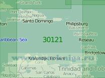 30121 Восточная часть Карибского моря (Масштаб 1:2 000 000)