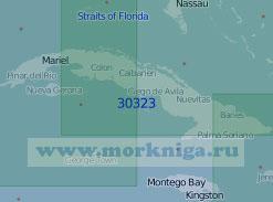 30323 Остров Куба (Масштаб 1:1 000 000)