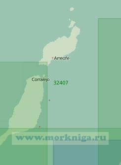 32407 Острова Лансароте и Фуэртевентура (Масштаб 1:200 000)