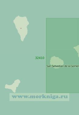 32410 Западная часть Канарских островов и острова Селваженш (Масштаб 1:1:200000)
