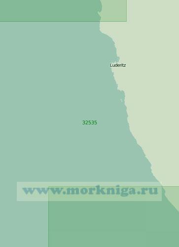 32535 От порта Людериц до бухты Бейкер (Масштаб 1:200 000)