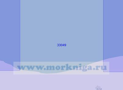 33049 От порта Ноушехр до Феридункенарского рейда (Масштаб 1:100 000)