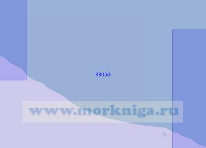 33050 От мыса Туркруд до порта Ноушехр (Масштаб 1:100 000)