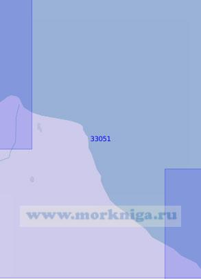 33051 От мыса Сефидруд до мыса Туркруд (Масштаб 1:100 000)