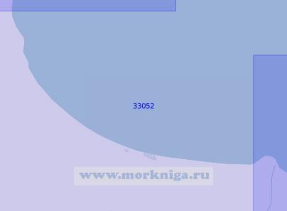 33052 Подходы к порту Энзели (Масштаб 1:100 000)