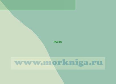 35010 Подходы к мысу Башлы (Масштаб 1:25 000)