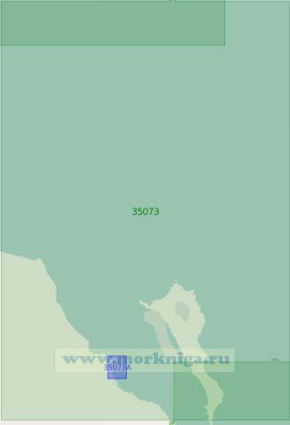 35073 Северный Апшеронский залив с подходами (Масштаб 1:25 000)