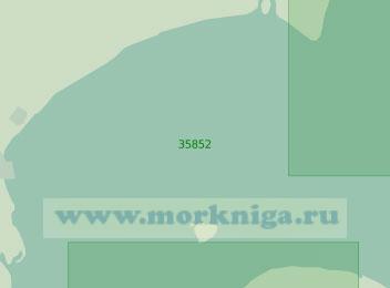 35852 Лагуна Патус. От канала Барра до канала Фейтория (Масштаб 1: 25 000)