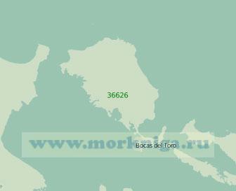 36626 Северная часть бухты Альмиранте (Масштаб 1:30 000)