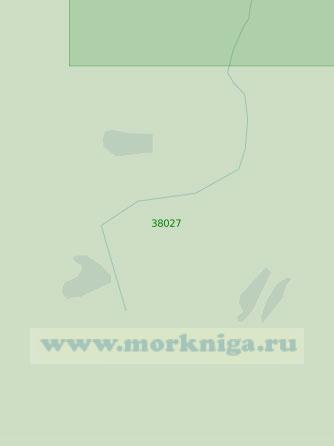 38027 От селения Трудфронт до буя №127 (Масштаб 1:25 000)