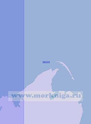 38103 Порт Усть-Дунайск и Прорвинский канал (Масштаб 1:12 500)