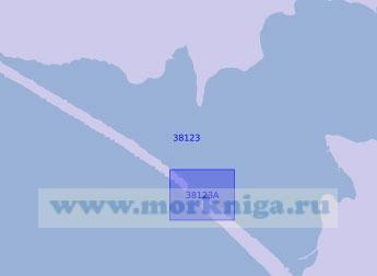 38123 Юго-западная часть озера Донузлав (Масштаб 1:10 000)
