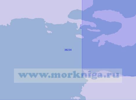 38234 Залив Мегарон (Масштаб 1:15 000)