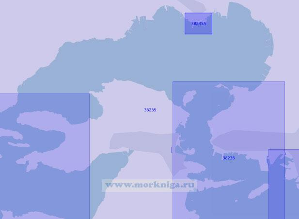 38235 Бухта Элефсинос (Масштаб 1:20 000)