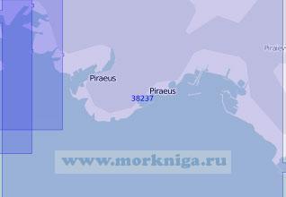 38237 Порт Пирей и бухта Фалирон (Масштаб 1:10 000)