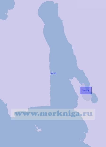 38250 Бухта Аргостолион (Масштаб 1:20 000)