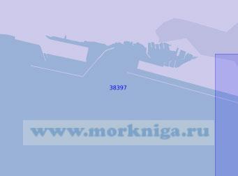38397 Западная часть порта Генуя (Масштаб 1:10 000)