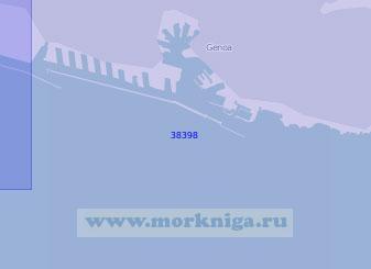 38398 Восточная часть порта Генуя (Масштаб 1:10 000)