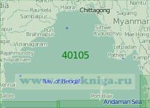40105 Бенгальский залив (Масштаб 1:2 000 000)