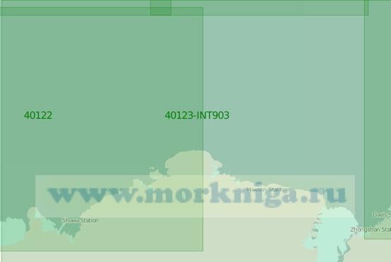 40123 Море Содружества (Масштаб 1:2 000 000)