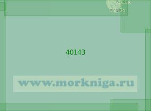 40143 Район к юго-западу от острова Тасмания (Масштаб 1:2 000 000)