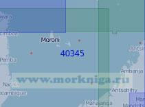 40345 Северная часть Мозамбикского пролива (Масштаб 1:1 000 000)