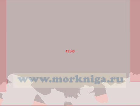 41140 От бухты Брехилен до бухты Эрскин (Масштаб 1:500 000)