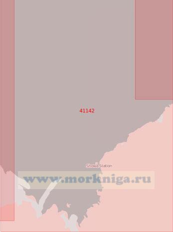 41142 Залив Лютцов-Халмбукта (Масштаб 1:500 000)