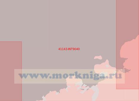 41143-INT9040 От мыса Анн до залива Алашеева (Масштаб 1:500 000)
