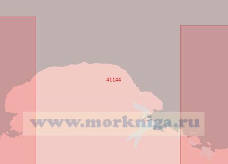 41144 От залива Амундсена (Айс) до островов Хобс (Масштаб 1:500 000)