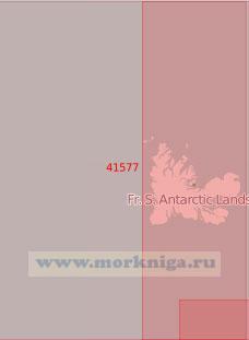 41577 Подходы к островам Кергелен с запада (Масштаб 1:500 000)