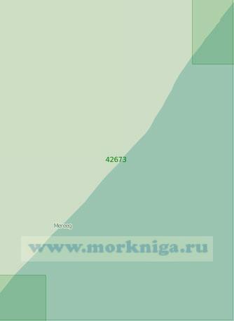 42673 От города Оббия до селения Эль-Мегет (Масштаб 1:300 000)