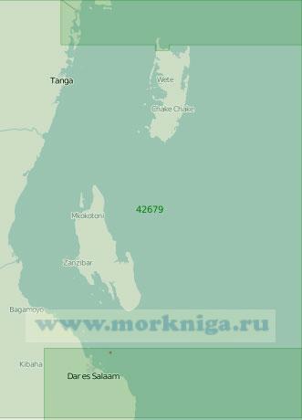 42679 Проливы Занзибарский и Пемба (Масштаб 1:300 000)