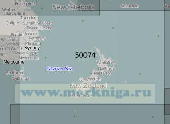 50074 От Австралии до островов Чатем (Масштаб 1:5 000 000)