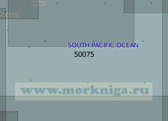 50075 От островов Кука до острова Пасхи (Масштаб 1:5 000 000)
