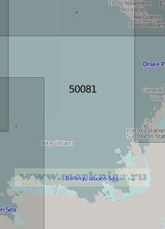 50081 От Антарктического полуострова до острова Терстон (Масштаб 1:5 000 000)
