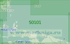 50101 Восточная часть Малайского Архипелага и Каролинские острова (Масштаб 1:2 000 000)