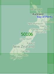 50106 Новая Зеландия (Масштаб 1:2 000 000)