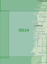 50114 От порта Вальпараисо до острова Веллингтон (Масштаб 1:2 000 000)