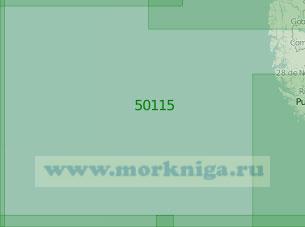 50115 Район к западу от Магелланова пролива (Масштаб 1:2 000 000)