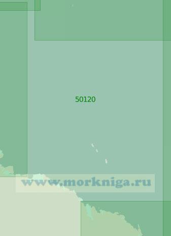 50120 От Берега Георга V до моря Росса (Масштаб 1:2 000 000)