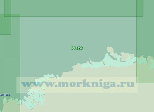 50123 От полуострова Мартин до мыса Колбек (Масштаб 1:2 000 000)