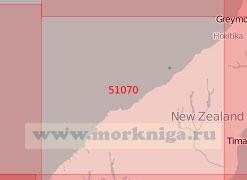 51070 От порта Греймут до бухты Чарльз-Саунд (Масштаб 1:500 000)