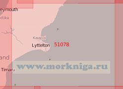51078 От мыса Кин до порта Оамару (Масштаб 1:500 000)