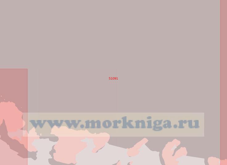 51091 От полуострова Бэр до мыса Дарт (Масштаб 1:500 000)