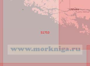 51753 От островов Камден до мыса Горн (Масштаб 1:500 000)