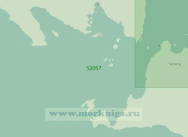 52057 Зондский пролив (Масштаб 1:250 000)