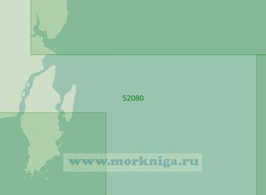 52080 От острова Лаут до острова Лумулуму (Масштаб 1:250 000)