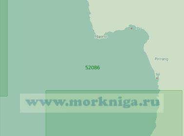 52086 От мыса Улиранг до острова Капопосанг (Масштаб 1:250 000)