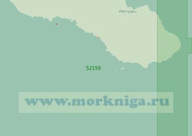 52159 Южный берег острова Сумба (Масштаб 1:250 000)